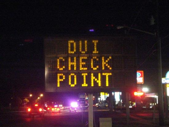 DWI check points SR22-Insurance-policies.com